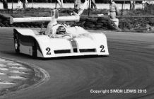 "LOLA T530 (Flux) Brands Hatch Thundersports June 1987 10x7"" Black and White photo"